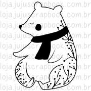 Carimbo Modelo Urso - Coleção Noite Feliz / Juju Scrapbook