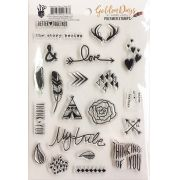 Polymer Stamps Golden Days - Fancy Pants