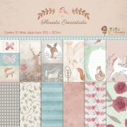 Kit Coordenado - Floresta Encantada / JuJu Scrapbook