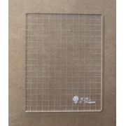 Base acrílica para carimbo - 13 cm x 17 cm