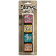 Carimbeira Mini Distress Ink Tim Holtz - Pad Kit 40316