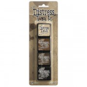 Carimbeira Mini Distress Ink Tim Holtz - Pad Kit 40330