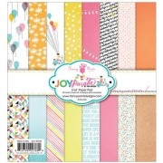 Bloco de Papel 15x15 cm Joy Parade - Fancy Pants Designs