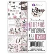 Cards 45 folhas Rose Quartz - Prima Marketing