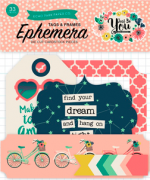 Ephemera Die cut | Tags e Frames | - Coleção Just Be You - Echo Park Paper Co.