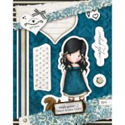 Urban Stamp (7pcs) - Gorjuss - You Brought Me Love