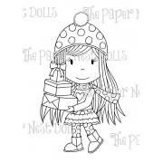 Carimbo Paper Nest Dolls - Modelo Gift Giving Avery