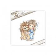 Carimbo Magnolia - Modelo Tilda with Leo the Lion