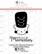 Carimbo Mini Melhores Momentos - Coleção Mundo Mágico - JuJu Scrapbook