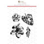 Coleção Paraíso Tropical by Babi Kind - Carimbo G