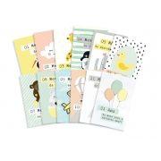 Kit de Cards 1 Ano de Amor Tamanho G - Coleção Meu Coração é Seu / JuJu Scrapbook
