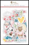 Die Cuts - Coleção Abraço de Urso - Coleção Abraço de Urso - JuJu Scrapbook