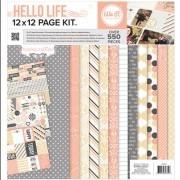 Kit de Páginas 30,5 x 30,5 cm Hello Life - We R Memory Keepers