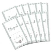 Kit de Tags Cheguei! Modelo Cacto - Coleção Meu Coração é Seu / JuJu Scrapbook