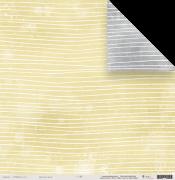 Papel Fios de Lã - Coleção Toda Básica / JuJu Scrapbook