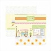 Papel Sweet Candy by Mariceli Massuci - Cenário e Bandeirolas - Toke & Crie