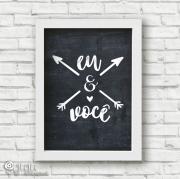 Poster Eu & Você - Coleção Todo Momento Importa / Juju Scrapbook