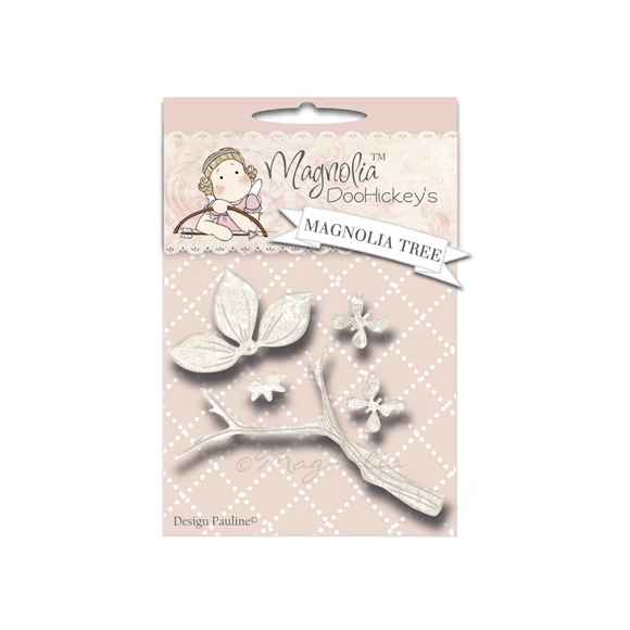 Die Magnolia - Modelo Magnolia Tree  - JuJu Scrapbook