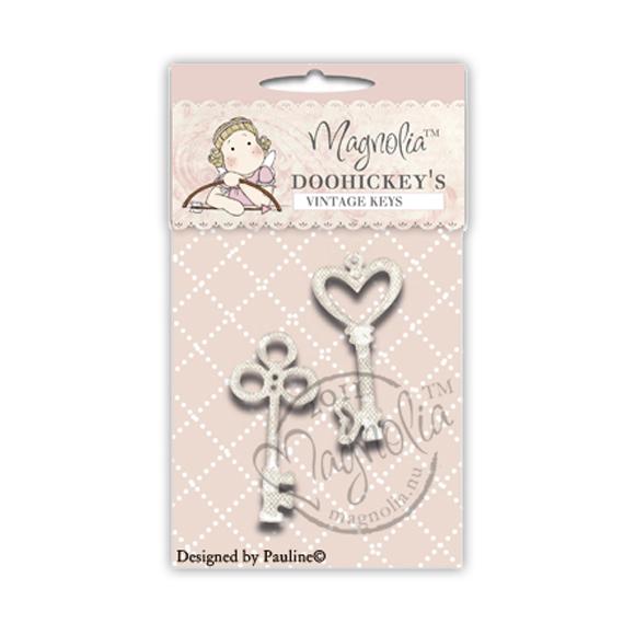Die Magnolia - Modelo Vintage Keys  - JuJu Scrapbook