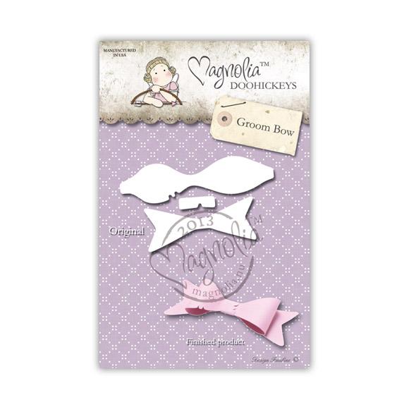 Die Magnolia - Modelo Groom Bow  - JuJu Scrapbook