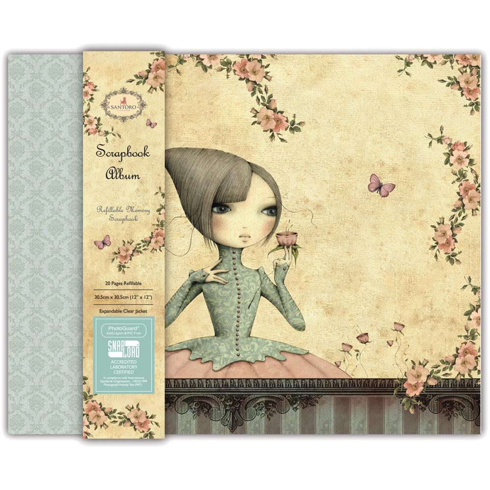 Scrapbook Album Mirabelle - SNALB001  - JuJu Scrapbook