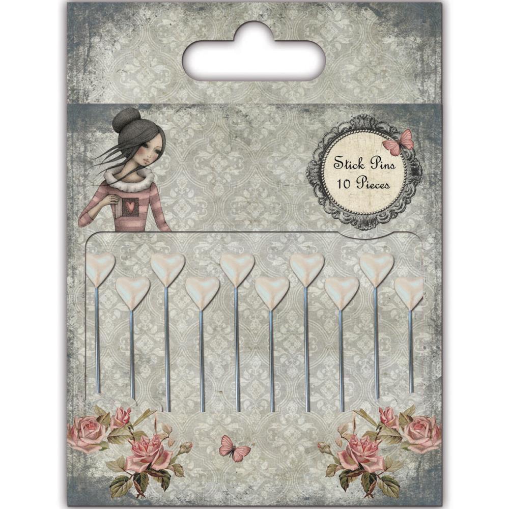 Stick Pins - Mirabelle  - JuJu Scrapbook