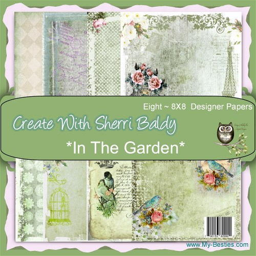 Papel My Besties - In the Garden  - JuJu Scrapbook