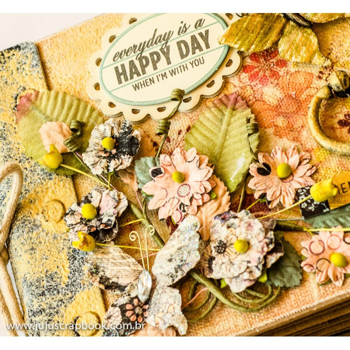 Álbum Happy Day  - JuJu Scrapbook
