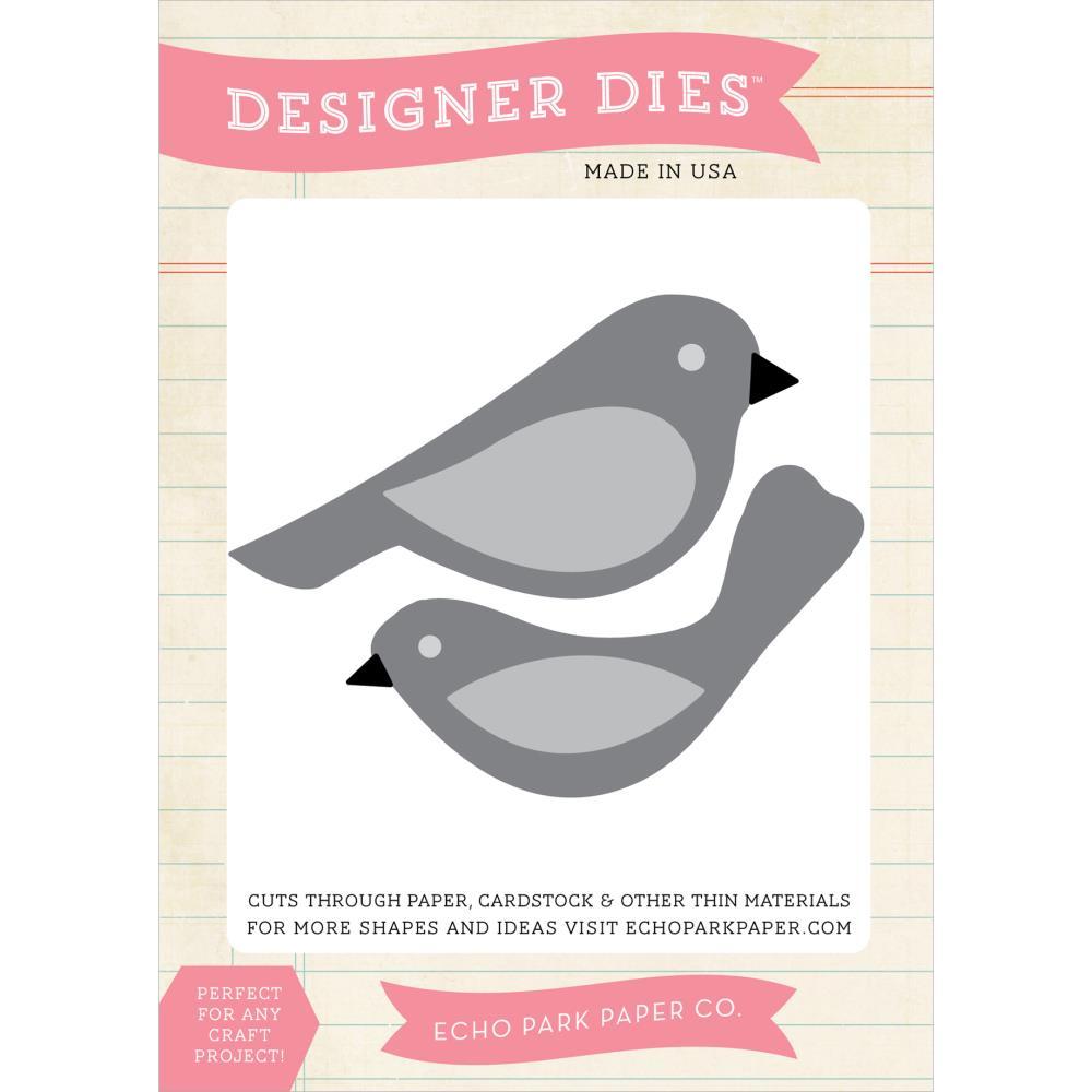 Die Echo Park Paper Co. - Modelo Bird Set  - JuJu Scrapbook