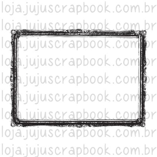 Carimbo Modelo Moldura Vintage - Coleção Família para Sempre / JuJu Scrapbook  - JuJu Scrapbook