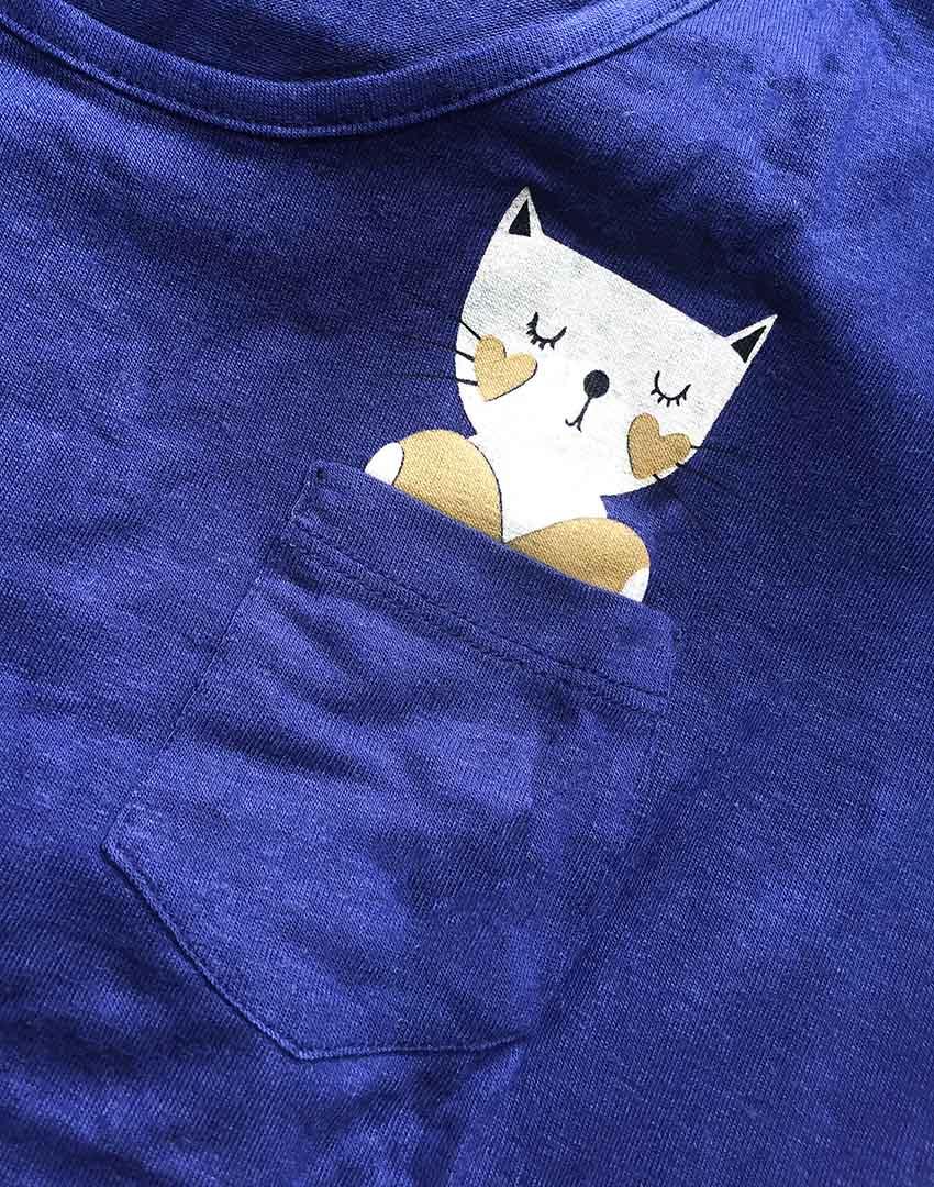 T-shirt Modelo Gato - Coleção Família para Sempre / JuJu Scrapbook  - JuJu Scrapbook