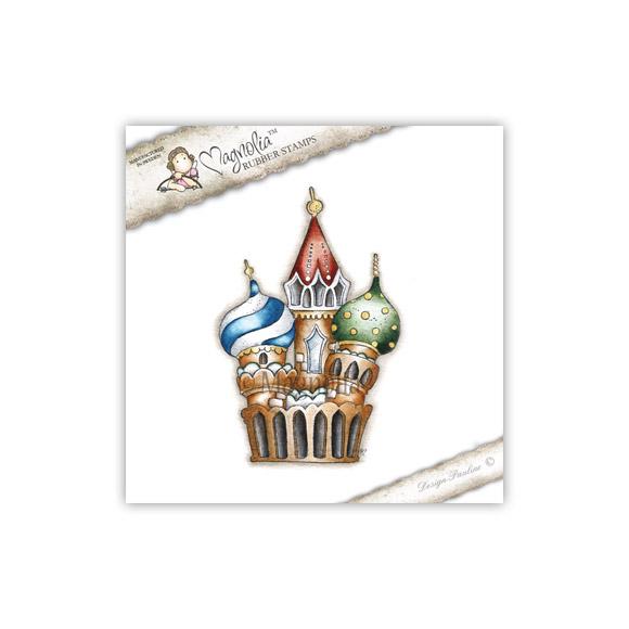 Carimbo Magnolia Moscow Cathedral  - JuJu Scrapbook