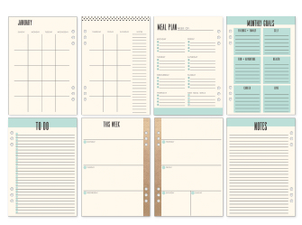 Planner Frank Garcia - My Prima Planner / Prima Marketing  - JuJu Scrapbook