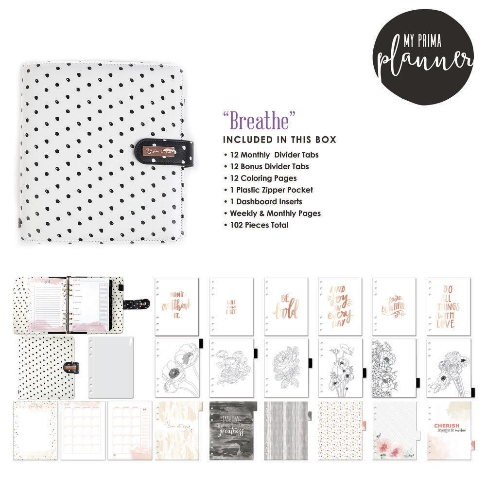 Planner Breathe - My Prima Planner / Prima Marketing  - JuJu Scrapbook
