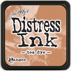 Carimbeira Distress Ink Tim Holtz Grande  - Tea Dye  - JuJu Scrapbook
