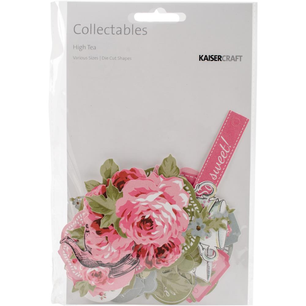 Enfeites Collectables - Coleção High Tea / KaiserCraft  - JuJu Scrapbook