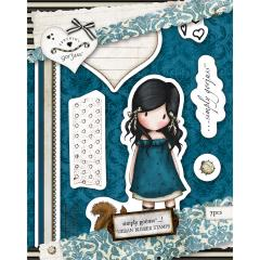 Urban Stamp (7pcs) - Gorjuss - You Brought Me Love  - JuJu Scrapbook