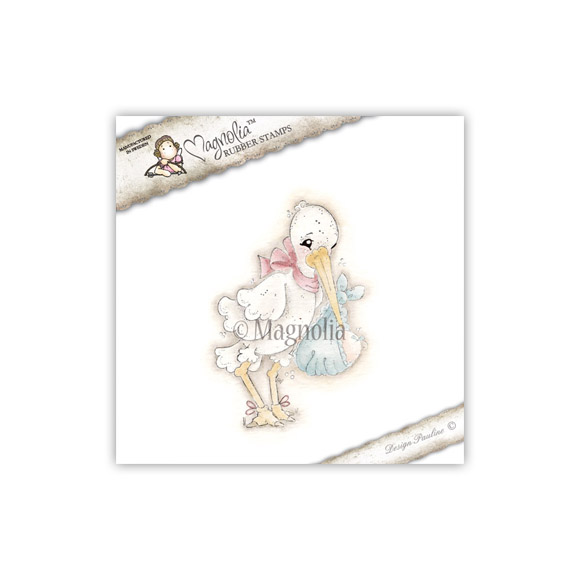 Carimbo Magnolia - Modelo Delivery from Heaven  - JuJu Scrapbook
