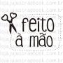 Carimbo Modelo Feito à mão - Coleção Love Scrap / JuJu Scrapbook