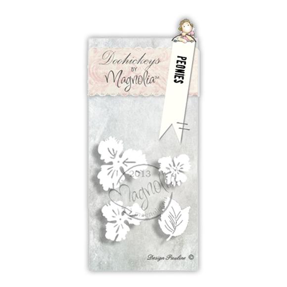 Die Magnolia - Modelo Peonies  - JuJu Scrapbook