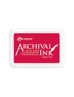 Carimbeira Archival Ink - Cor Vermillion  - JuJu Scrapbook