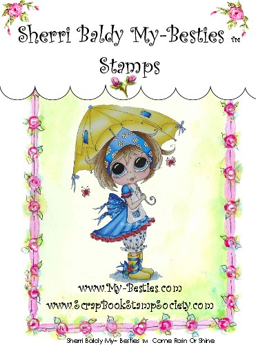 Carimbo My Besties - Modelo Rain Or Shine  - JuJu Scrapbook