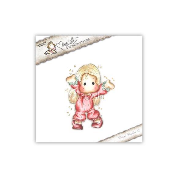 Carimbo Magnolia - Modelo Summer Strawberry Tilda  - JuJu Scrapbook