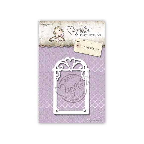 Die Magnolia - Modelo Heart Window  - JuJu Scrapbook