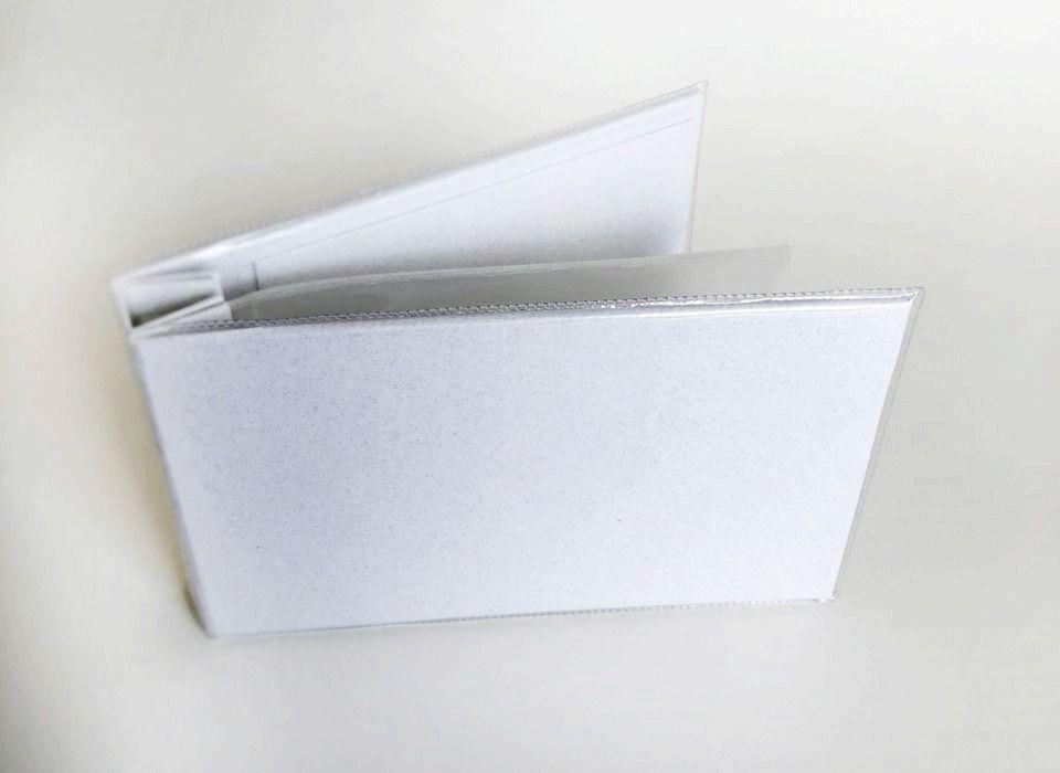 Álbum 19 cm X 11,5 cm Branco - JuJu Scrapbook  - JuJu Scrapbook