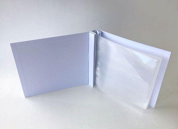 Álbum 20cm X 20cm Branco - JuJu Scrapbook  - JuJu Scrapbook
