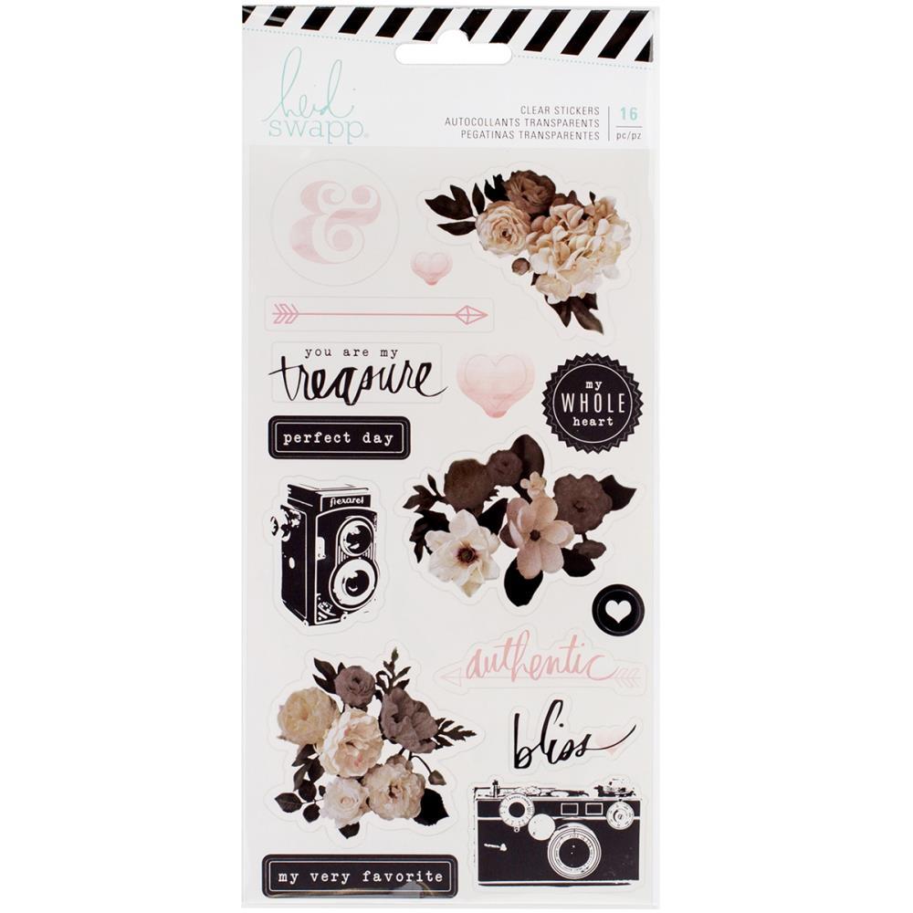 Enfeite Adesivo Clear Sticker You Are My Treasure - Heidi Swapp  - JuJu Scrapbook
