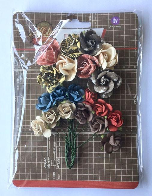Flores Decorativas All Star Collection - Prima Marketing   - JuJu Scrapbook