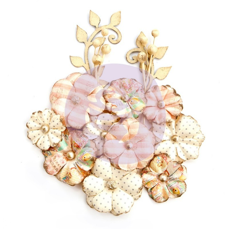 Flores Decorativas Heaven Sent - Prima Marketing   - JuJu Scrapbook