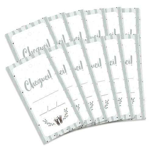 Kit de Tags Cheguei! Modelo Cacto - Coleção Meu Coração é Seu / JuJu Scrapbook  - JuJu Scrapbook